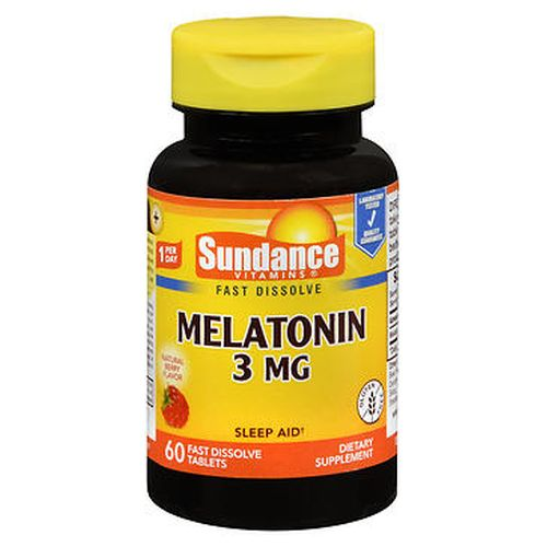 Sundance Vitamins Melatonin Tablets Natural Berry Flavor 60 Tabs by Natures Truth Sundance Vitamins Melatonin Tablets Natural Berry Flavor 60 Tabs by Natures Truth