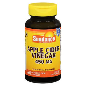 Sundance Apple Cider Vinegar Quick Release Capsules 60 Caps by Sundance