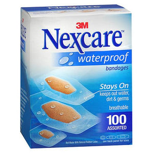 Nexcare Waterproof Bandages Assorted Size
