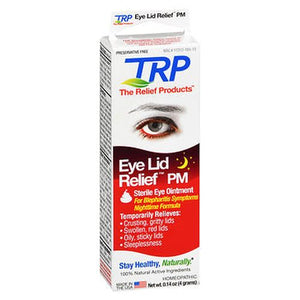 The Relief Products Eye Lid Relief PM Sterile Eye Ointment