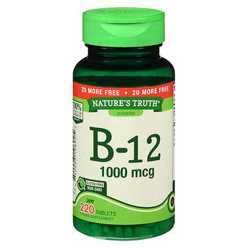 NatureS Truth B12 Tablets 220 Tabs by Natures Truth NatureS Truth B12 Tablets 220 Tabs by Natures Truth