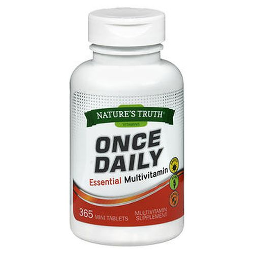 NatureS Truth Once Daily Essential Multivitamin Mini Tablets 365 Tabs by Natures Truth NatureS Truth Once Daily Essential Multivitamin Mini Tablets 365 Tabs by Natures Truth