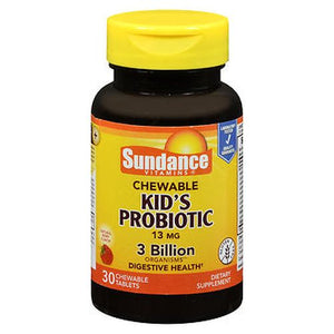 Sundance Kid's Probiotic Chewable Tablets Natural Berry Flavor