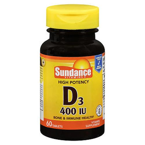 Sundance Vitamins High Potency D3 Vitamin Tablets 60 Tabs by Natures Truth Sundance Vitamins High Potency D3 Vitamin Tablets 60 Tabs by Natures Truth