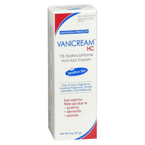 Vanicream Hc 1% Hydrocortisone Anti-Itch Cream