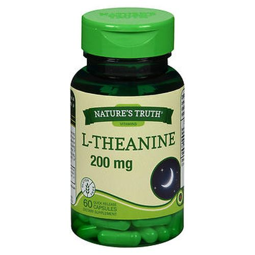 NatureS Truth LTheanine Dietary Supplement Capsules 60 Caps by Natures Truth NatureS Truth LTheanine Dietary Supplement Capsules 60 Caps by Natures Truth