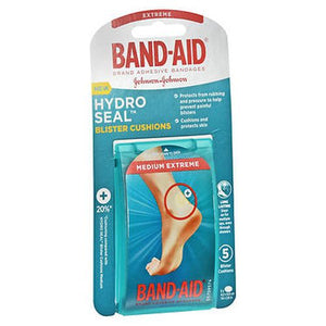 Band-Aid Hydro Seal Blister Cushions Medium Extreme 5 Each by Band-Aid