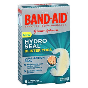 Band-Aid Hydro Seal Blister Toes Hydrocolloid Gel Bandages 8 Each by Band-Aid