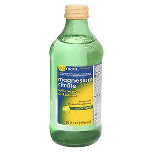 Sunmark Magnesium Citrate Oral Solution Lemon Flavor