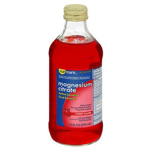 Sunmark Magnesium Citrate Oral Solution Cherry Flavor 10 Oz | 296 ml