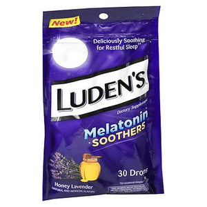 Luden'S Melatonin Soothers Drops Honey Lavender