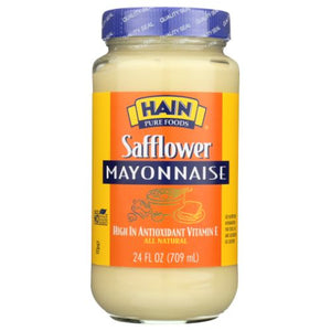 Mayonaisse Safflower 24 Oz by Hain Pure Foods