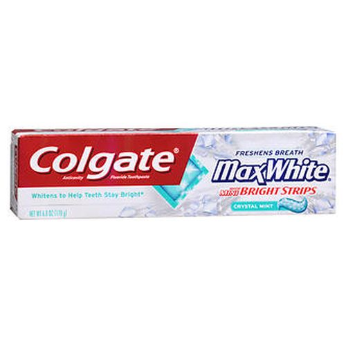 Colgate Toothapste Max White Crystal Mint 6 Oz by Colgate