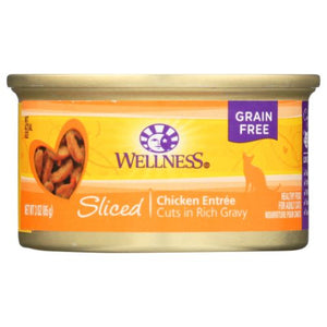Cat Food Sliced Chicken Entree - Chicken Entree 3 oz