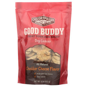 Good Buddy Dog Cookies Cheese - Cheddar Cheese Flavor 16 oz(case of 8)