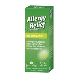 Allergy Relief 1 FL Oz by NatraBio