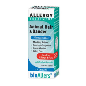 bioAllers Animal Hair/Dander Allergy Relief 1 FL Oz by BioAllers