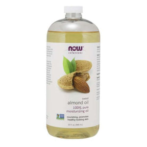 Now Solutions Sweet Almond Oil 100% Pure Moisturizing Oil - 32Oz
