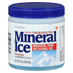 Mineral Ice Menthol Pain Relieving Gel Original 8 Oz by Mineral Ice