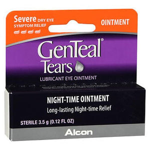 GenTeal Night-Time Lubricant Eye Ointment Severe Dry Eye Symptom Relief
