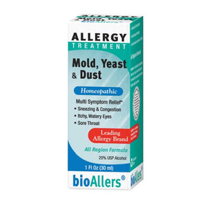 Bioallers Mold/Yeast/Dust Allergy Relief 1 FL Oz by BioAllers