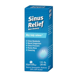 Sinus Relief 1 FL Oz by NatraBio