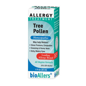 Bioallers Tree Pollen Allergy Relief 1 FL Oz by NatraBio