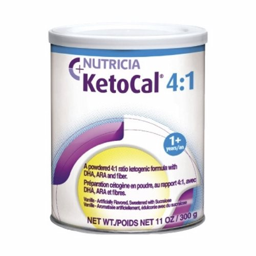 Oral Supplement Vanilla Flavor - Case of 6 by Nutricia North America A nutritionally complete, ketogenic formula in a 4:1 ratio (fat:carbohydrate + protein) for the dietary management of intractable epilepsySupplemented with DHA and ARAAppropriate for enteral or oral feedings