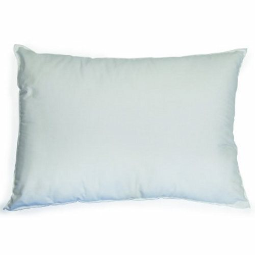 Bed Pillow McKesson 17 X 24 Inch White Disposable - White Case of 12 by McKesson McKesson Disposable PillowsWhite17 X 24 Inch, Standard LoftDisposable personal pillows provide the optimum in comfort and are great for propping.Breathable cover and garnetted polyester fiberfill creates a lofty and resilient pillow.Flame-resistant.Single patient use pillows are an excellent guard against cross-contamination.Ideal for outpatient, critical care areas, and patient rooms.Not Made with Natural Rubber Latex.Packaged: 12 Per Case