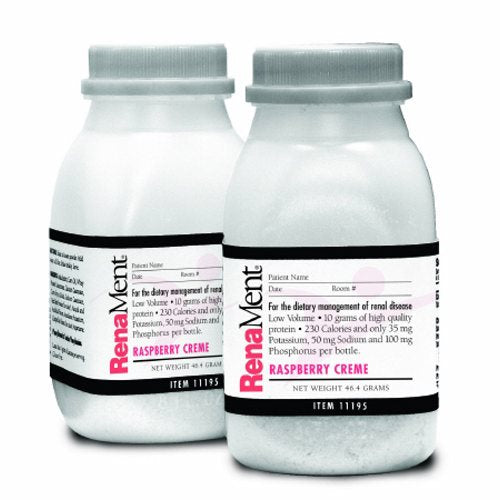 Oral Supplement RenaMent Raspberry Cream Flavor 4 oz. Container Bottle Ready to Use - Case of 24 by Medtrition Oral Supplement RenaMent Raspberry Cream Flavor 4 oz. Container Bottle Ready to Use - Case of 24 by Medtrition