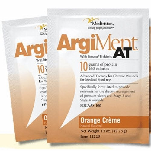 Oral Supplement - Case of 60 by Medtrition/National Nutrition ArgiMent AT is specifically formulated to provide the nutrients for the dietary management of pressure ulcers and wounds that require enhanced levels of protein, vitamins and minerals