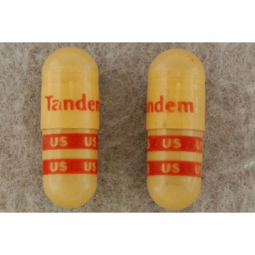 Mineral Supplement Tandem Iron 162 mg Strength Capsule 90 per Bottle - 1 Each by US Pharmaceutical Corporation This product provides the body with ferrous sulfateIt is recommended for iron deficiency when the need for Vitamin and Mineral Supplementation has been determined by a health professional