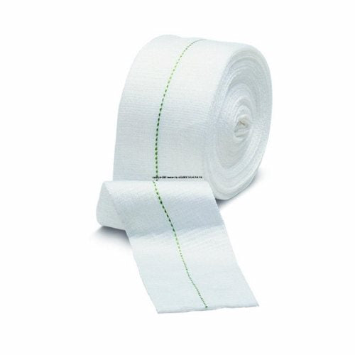 Dressing Retention Bandage Roll Blue 1 Count by Molnlycke Health Care Us Holds dressings securely  without constriction or compression.Its radial and longitudinal stretch allows patients complete freedom of movement  with added comfort.Quick and easy to use  simply cut to size and stretch over the dressing for an even  nonconstrictive fit.