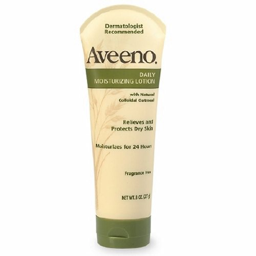 Hand and Body Moisturizer 8 oz Unscented Cream - 1 Each by Aveeno Helps prevent and temporarily protects chafed, chapped or cracked skinThis naturally nourishing, non-greasy lotion absorbs quickly and contains no added fragrance