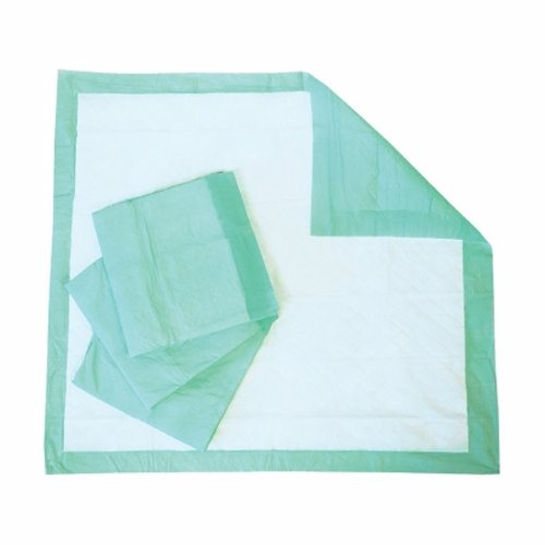 Underpad Select 28 X 30 Inch Disposable Fluff Moderate Absorbency Case of 100 by Principle Business Enterprises These underpads have a fluff mat construction with a moisture-proof backing and a diamond embossed quilt pattern to help disperse moisture quicklyProtect bedding, furniture, or wheelchairs from leakage10.6 oz capacity