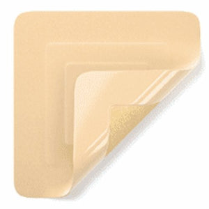 Foam Dressing TIELLE Lite 4-1/4 X 4-1/4 Inch Square Adhesive with Border Sterile 50 Count by Systagenix Wound Management