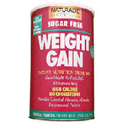 Weight Gain Powder Vanilla 40 Oz by Naturade 2009 & 2010 Vity Awards: 1st Place Winner, Best Weight Gain ProductAdd 1500 CaloriesAll naturalInstant nutrition drink mixNo sugar addedOne 16 oz shake pre-workout, plus one 16 oz shake before bedTastes Delicious!The All Natural Gainer