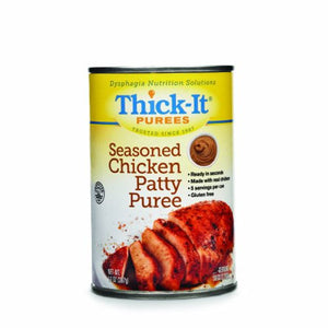 Puree Thick-It  14 oz. Container Can Seasoned Chicken Patty Flavor Ready to Use Puree Consistency