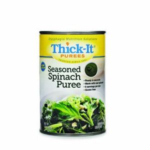 Puree Thick-It  15 oz. Container Can Spinach Flavor Ready to Use Puree Consistency