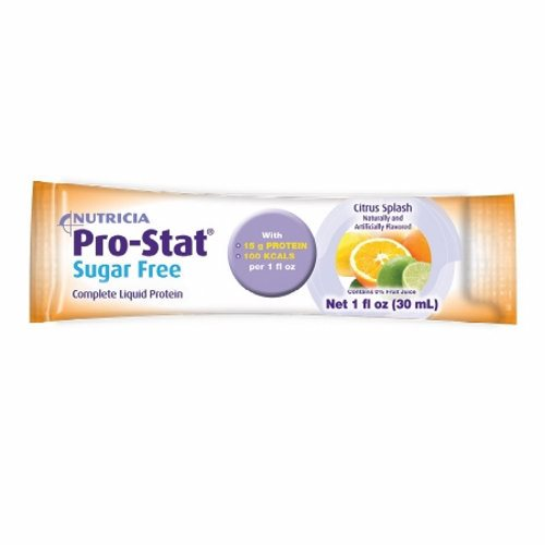 Protein Supplement Citrus Splash Flavor 1 oz - 1 Each by Medical Nutrition Complete liquid protein clinically supported to promote wound healingMedical food designed for the dietary management of wounds and other conditions requiring increased protein in low volumeNutrient dense, providing 15 grams of protein and 100 calories per 1 fl ozCan be oral or tube fedKosher, Lactose free, gluten free and soy free