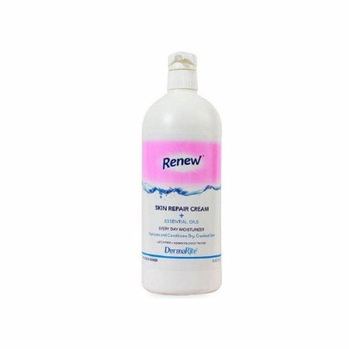 Hand and Body Moisturizer 32 oz Scented - 1 Each by DermaRite Protects and helps relieve dry, chapped or cracked skin, and restores moistureContains dimethicone, aloe vera, and natural and essential oils combined to form a moisturizing barrier that nourishes and rejuvenates the skin