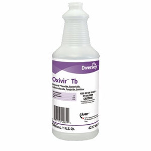 Surface Disinfectant Cleaner Oxivir  Tb Peroxide Based Liquid 32 oz. NonSterile Bottle Cherry Almond 1 Each by Lagasse