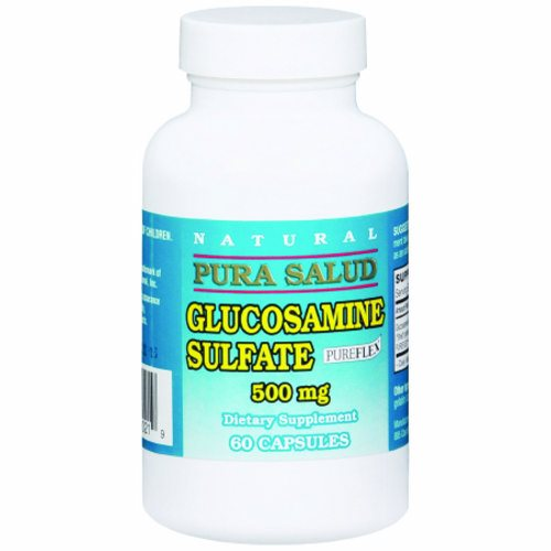 Joint Health Supplement 500 mg - 60 Caps by Pura Salud Glucosamine sulfate is a widely used supplement that may help ease paináin people witháosteoarthritisThis can easeájoint pain