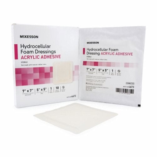 Foam Dressing Case of 100 by McKesson