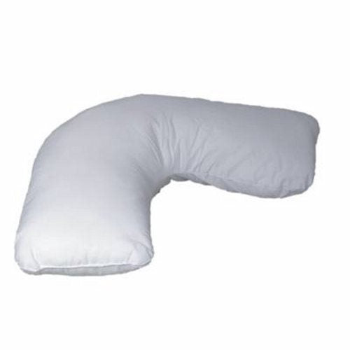 Bed Pillow 17 X 22 Inch - 1 Each by Mabis Healthcare Provides support for the head, neck, shoulders, and upper chestOffers complete comfort in all sleeping positionsHypoallergenic and machine washableMade of quality polyester fiberfill that holds its shapeRemovable, machine washable white polyester/cotton cover
