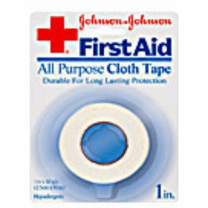 Athletic Tape Zonas  Porous Cotton 1 Inch X 10 Yard White NonSterile