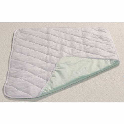 Underpad 28 X 36 Inch - 1 Each by Mabis Healthcare This soft quilted bed and furniture protector pad helps protect bedding, furniture and wheelchairs from moistureUse it on beds when potty training, for incontinent patients or on furniture to protect against pet accidentsThe 100 percent brushed polyester top layer keeps moisture away from the skin, meaning you stay dryThe waterproof bottom layer catches any leakageOversized top layer prevents the pad from rollingMachine Washable