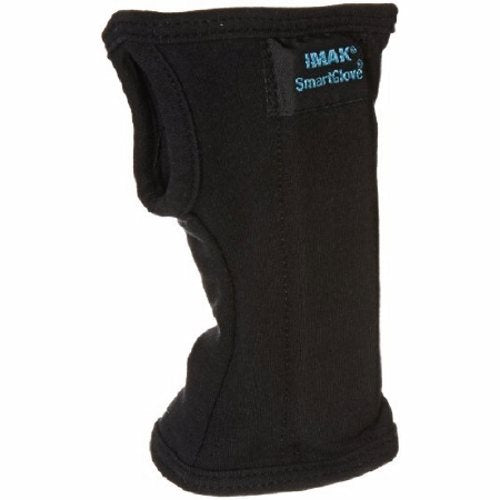 Wrist Splint Left or Right Hand Large - Black 1 Each by Brownmed Helps prevent and relieve wrist pain associated with CTS, arthritis and tendonitisIncreases comfort and circulationEnsures ergonomically correct wrist positionCushions and protects the underside of the wrist, including the pisiform boneFlexible support splintWashable