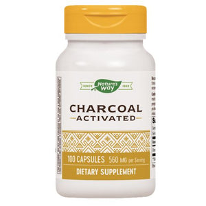 Activated Charcoal - 100 Caps