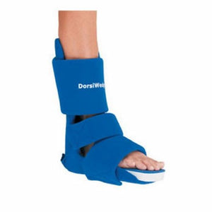 Night Splint Medium Left/Right Blue 1 Each by Dorsiwedge